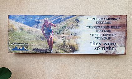 Shotover Moonlight Mountain Marathon 2020 Wall Art with your individualised event photo